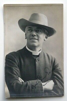 RP Postcard CLERGYMAN, TAUNTON, SOMERSET by Montague Cooper