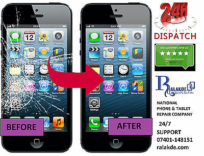 iPhone 5 5s 5c LCD Screen Glass Replacement - 24 HOUR REPAIR SERVICE