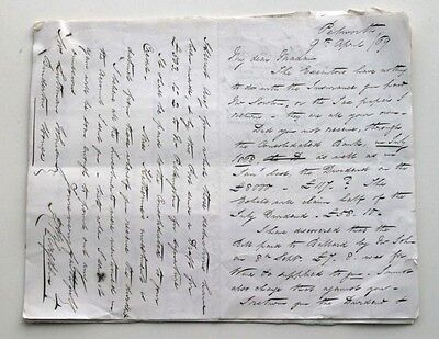 Lot of 16 x Letters Dated 1868; Luttman-Johnson Family, Binderton House, Sussex