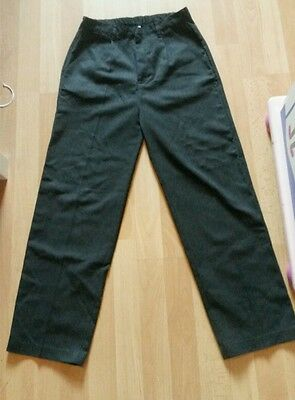 Boys grey school trousers. 11-12 years