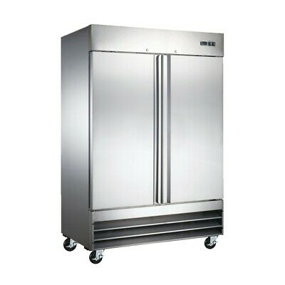 "54"" Commercial Reach In Stainless Steel Freezer CFD-2FF (Free Shipping)"