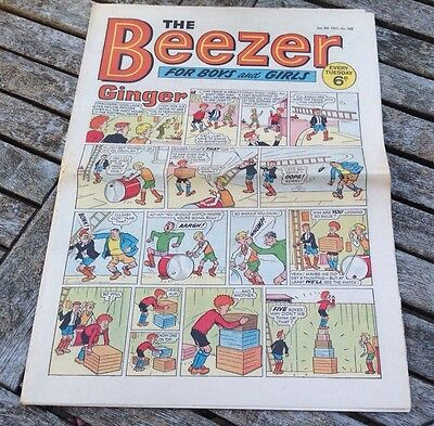 VINTAGE BEEZER COMIC 9th January 1971 Issue no 782