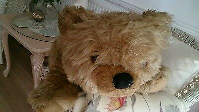 Vintage Teddy Bear Cub Large Chad Valley Chiltern RARE! Made in England 40 years