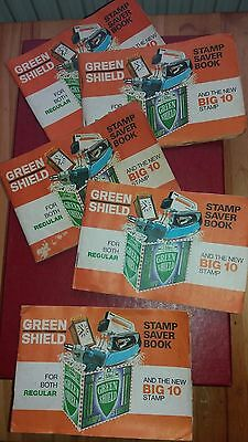 5 books of Green Shield Stamps