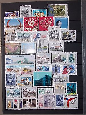 Collection Timbres France  Annee 2013 Complete  Neuf ** Luxe