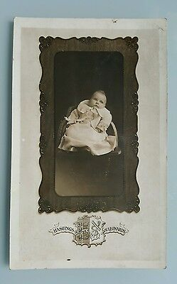 An Old USA Photo Postcard of a Baby Hastings Studio