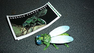 Colectable Australian Yowie Toy With Papers, Emerald Cuckoo Wasp