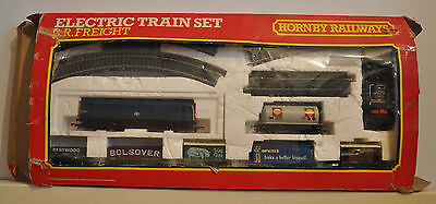 Hornby R785 BR Freight Electric Train Railway Set OO Gauge Boxed Toy