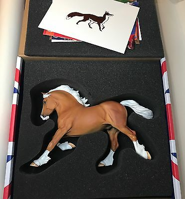 HANDPICKED Limited Edition of 250 Copperfox Sovereign Model Horse- LSQ