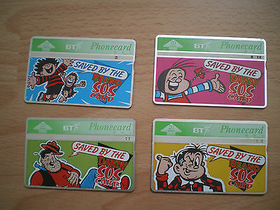 Collection Of Bt Phonecards - Beano