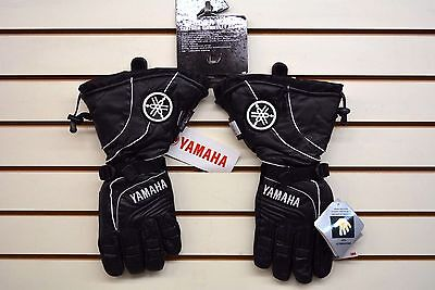 YAMAHA Leather Gloves-Glacier Basin Gauntlet-LARGE MEN'S-New Old Stock with Tags
