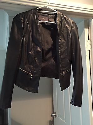 Temt Collection Leather Look Jacket. Size 12. Brand New $60 RRP