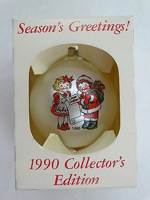 Campbell's Soup 1990 Collectors Edition Christmas Ornament