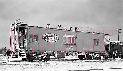 New York Central (NYC) Caboose 21749 - 8x10 Photo