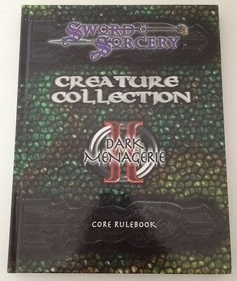Creature Collection II Dark Menagerie (d20; D&D 3rd Edition; Hardcover; 2001 New