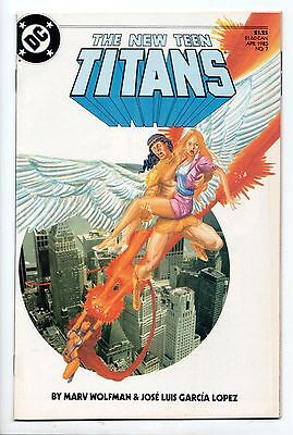 New Teen Titans #7 - The Origin of Lilith (DC, 1985) - VF