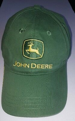 John Deere Owner's Edition Hat - Nothing Runs Like a Deere - One Size Ball Cap