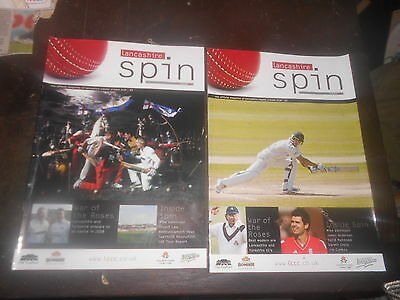 Lancs County Cricket Club 2 Red Rose Magazine  2 2007