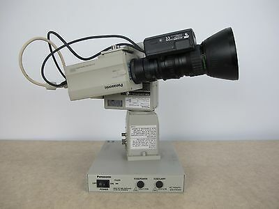 Panasonic AW-E300P Camera w/Fujinon-TV-Z Lens, AW-PH300AP PTZ & AW-PS300