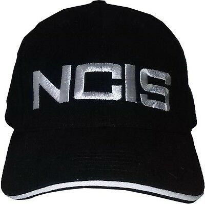 NCIS Black Baseball / Outdoor Cap Embroidered Hight Quality Hat Party Costume