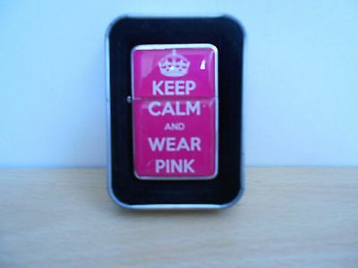 Keep Calm and Wear Pink lighter BRAND NEW