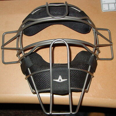 All-Star FM25TI Titanium Alloy Traditional Catcher's Mask - Used