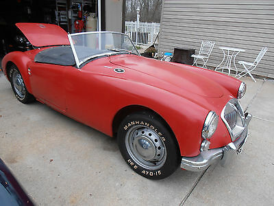 1962 MG MGA Classic 1962 MG MGA MKII Steel Wheel Roadster with hardtop