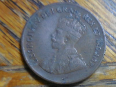 1935 George V Canadian One Cent Coin