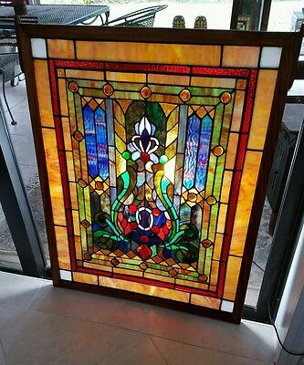 Antique Leaded  Stained Glass