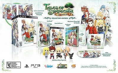 Tales of Symphonia Chronicles Collector's Edition PS3 NEW & SEALED collectors