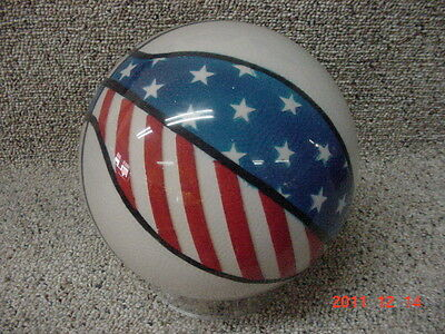 Clear Basketball Bowling Ball-New 15Lb  - Free Shipping