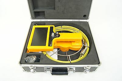 Video Snake Pipe And Wall Inspection Color Camera System