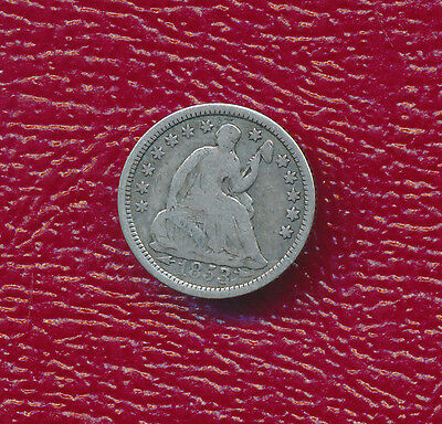 1853 Seated Liberty Silver Half Dime **very Nice Type Coin** Free Shipping!
