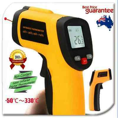 Digital Non-Contact NICE Infrared IR Thermometer Temperature Laser Gun OW
