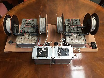 Pair of Homemade dividing networks / crossovers for WESTERN ELECTRIC 713b etc