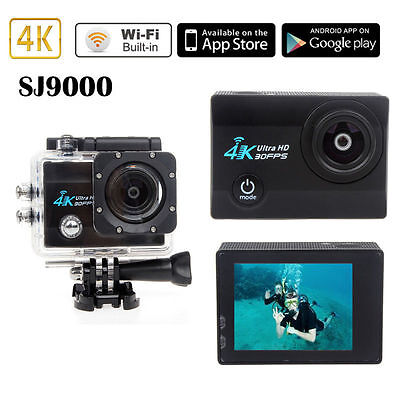 4k Extreme Sports Wifi Action Cam Camera Camcorder Ultra HD 1080P WaterProof New