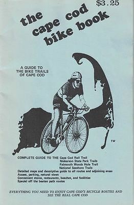 The Cape Cod Bike Book Guide To The Bicycle Trails Of Cape Cod 1998 Maps