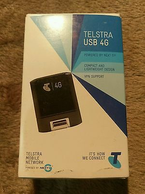 NEW  Telstra Ultimate AirCard 320U 4G LTE Wireless USB Mobile Broadband Modem