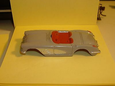 1962 Aurora Vet Shell Gray - Silver & Red  (Mint From Factory)