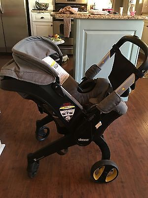 Doona Infant Seat Stroller All In One - Storm Grey With Base included