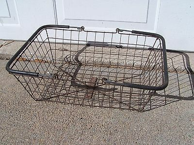 Vintage Mid Century School Swimming Pool Locker Basket Home & Garden Storage Bin