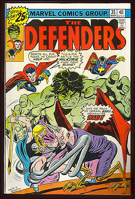 The Defenders #35 1976 VG/F