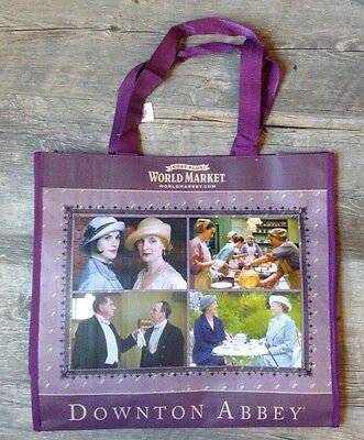 Dowton Abbey Large Tote Bag Cost Plus Promo 2015 NWT