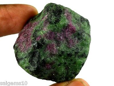 270 Ct Natural Untreated African Greenish Red Ruby Zoisite Gemstone Rough Ebay