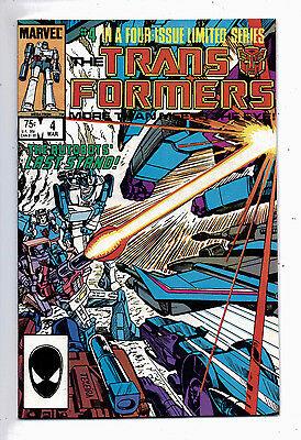 The Transformers #4 and #5, Marvel, 1985, VF-NM
