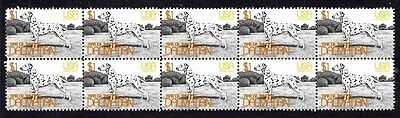 Dalmatian Strip Of 10 Mint Year Of The Dog Stamps 2