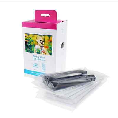 Compatible Canon KP-108IN 4x6 In 4R Ink & 108 Photo Paper Set for CP1200 CP1000