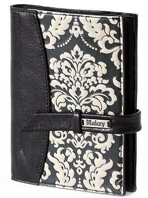 Black Genuine LEATHER Auto Documents + Passport COVER Drivers Licence HANDMADE