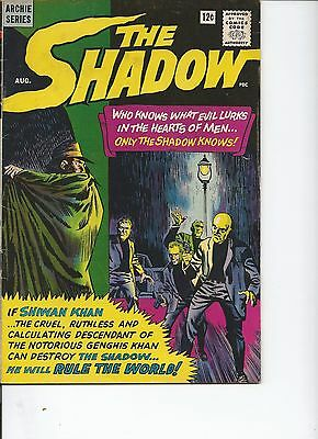 The Shadow #1 (Aug 1964, Archie)  Jerry Siegel scripts.