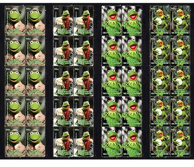 Kermit The Frog Muppet Show Set Of 4 Mint Stamp Strips